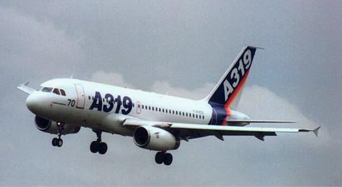 Un Airbus A-319 se sale de la pista de aterrizaje en el sur de Rusia