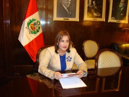 Embajadora Liliana De Olarte de Torres-Muga: Para ser diplomático se requiere, ante todo, ser patriota