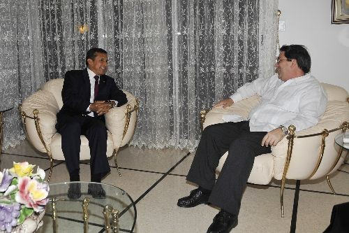 El presidente Humala culminó su visita a Cuba