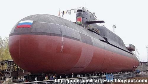 Rusia construirá dos submarinos atómicos en 2013