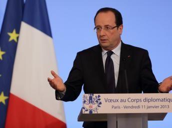 Francois Hollande asegura que acción militar francesa en Malí tiene como únicio objetivo la lucha contra el terrorismo