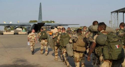 Tropas militares de Francia llegaron a Mali