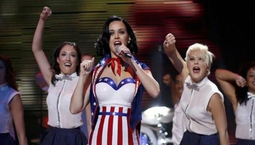 Katy Perry en el concierto inaugural del nuevo mandato de Obama [FOTOS]