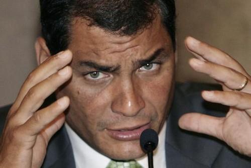 Rafael Correa: Obama practica una doble moral sobre América Latina