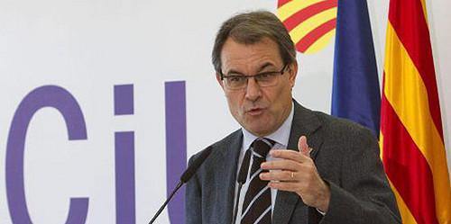Artur Mas a Rajoy por crisis: Cataluña sufriría menos si dependiera de ella misma