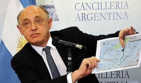 Canciller argentino tratará hoy la situación de las Malvinas en República Dominicana