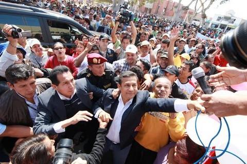 Presidente Ollanta Humala lanza campaña de salud bucal en Tarma