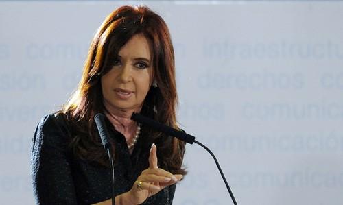 Cristina Fernández sobre foto de El País: así es la prensa canalla