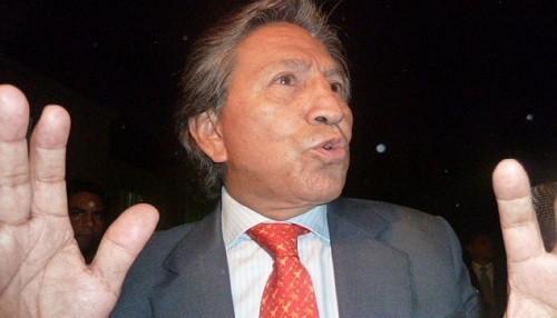 Alejandro Toledo responde por compra de residencia de su suegra