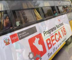Buscan jóvenes talentosos  en Pasco y Amazonas para que se incorporen a programa Beca 18