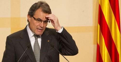 España: Artur Mas exhorta a Rajoy un 'rescate' de 9 mil millones de euros para Cataluña
