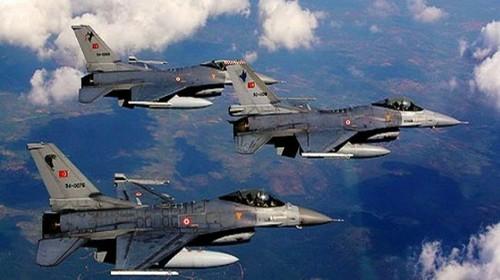 Siete aviones turcos violaron el espacio aéreo de Grecia