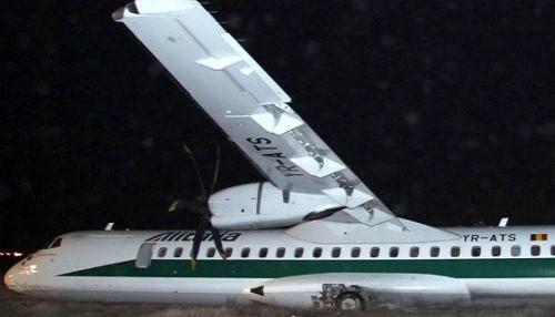 Despiste de avión dejó 16 heridos en Italia
