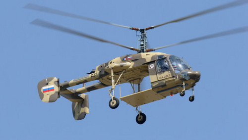 Rusia exhibirá el nuevo helicóptero Ka-226T