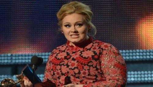 Adele se lleva un galardón en los Grammy Awards 2013