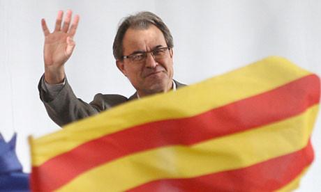 Artur Mas sobre plan soberanista: Cataluña está zarpando pero hay obstáculos de toda clase