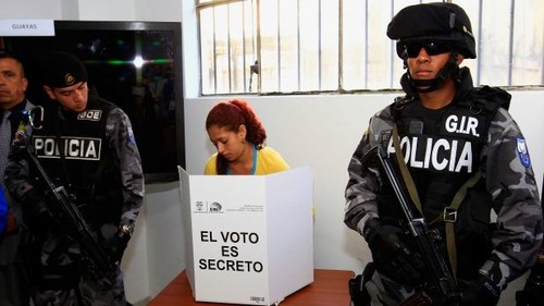 Elecciones en Ecuador: 310 personas violaron la Ley Seca en este fin de semana