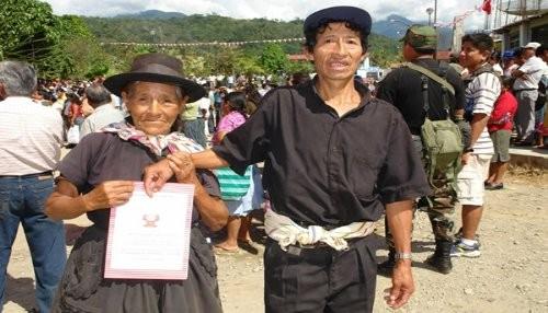 VRAEM: 850 familias son incluidas en proceso para entrega de títulos de propiedad