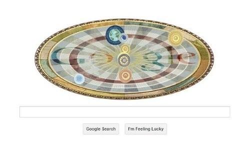Un Doodle de Google celebra el 540 aniversario de Copérnico