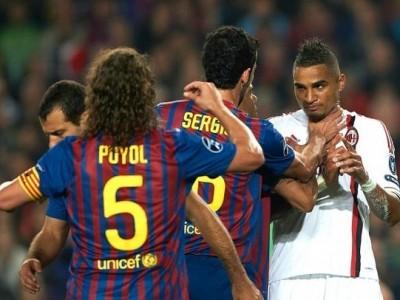 Champions League: alineaciones confirmadas del Milan y Barcelona