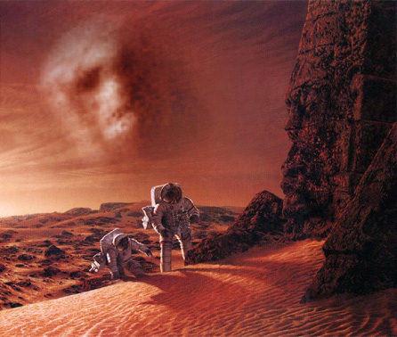 Nasa planea lanzar una misión tripulada a Marte en el 2018