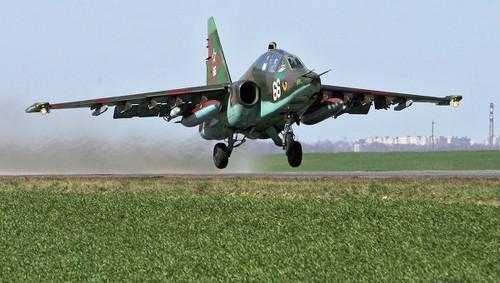 Rusia espera que la nueva versión del avión ruso Su-25 pueda contrarestar los misiles Patriot