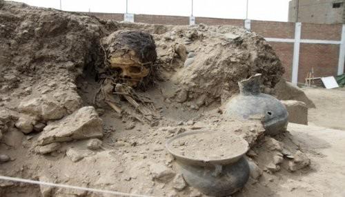 Hallan restos prehispánicos en huacas Túpac Amaru A y B de San Luis