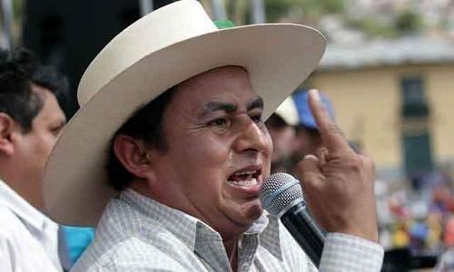 Gregorio Santos tras exámenes psicológicos: pretenden sacarme de la presidencia de Cajamarca