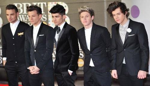 One Direction coronada como la peor Banda del Año en los NME Awards 2013