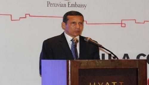 Ollanta Humala: 'Inseguridad es un problema antiguo'