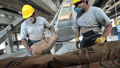Consumo interno de cemento aumentó 18,64%