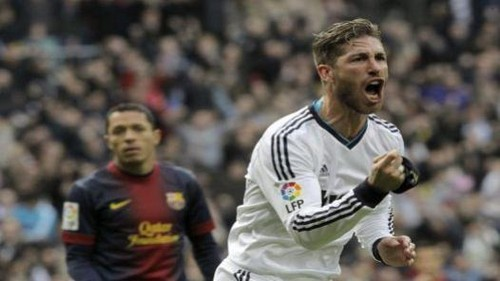 Real Madrid le ganó 2 - 1 al Barcelona