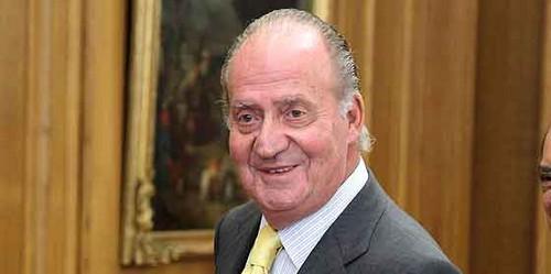 Rey Juan Carlos antes de ingresar al quirófano: aquí estoy otra vez