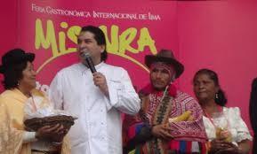 Lunes 4: 'Mistura' Presentación de libro arte alusivo a la Gastronomía peruana