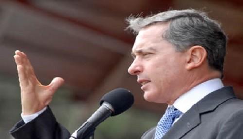 Álvaro Uribe pide unidad para combatir la inseguridad