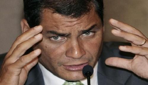 Rafael Correa arremete contra la CIDH en Twitter