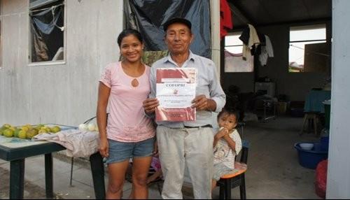 Más de dos mil familias de la selva peruana recibieron sus títulos de propiedad