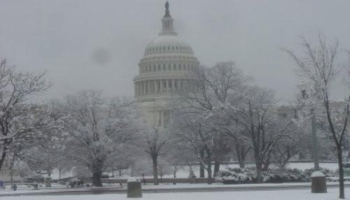 Washington se quedó sin electricidad tras tormenta