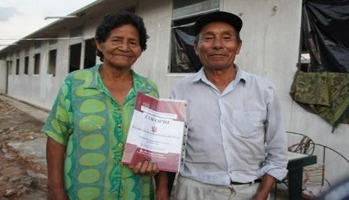Unas 1,040 familias de Maynas se convirtieron en propietarias de sus predios