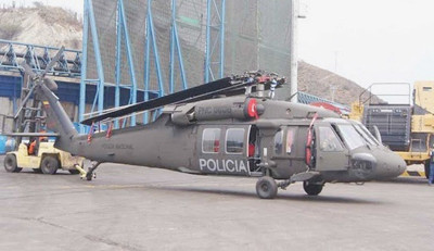Colombia recibe seis nuevos helicópteros UH-60 A/L Black Hakw
