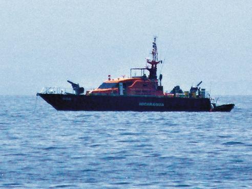 Honduras denuncia a Nicaragua por emplazar nave artillada en su zona marítima