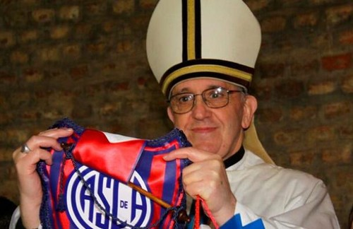 El nuevo Papa es un gran aficionado al fútbol y se ha declarado seguidor del club San Lorenzo de Almagro