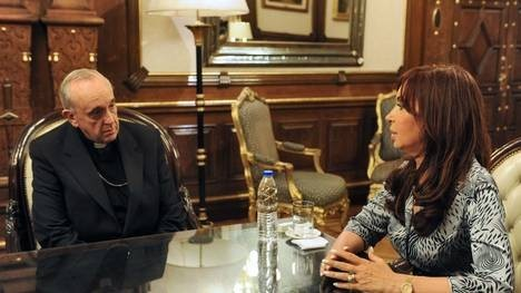 Una novedad demasiado incómoda para la Presidenta [Cristina Fernández y Papa Francisco]