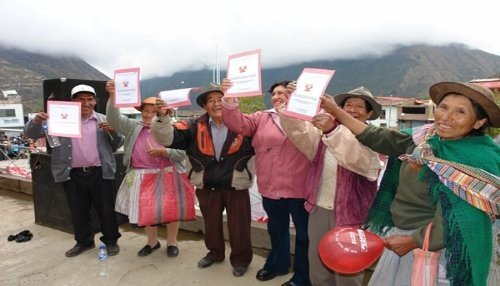 Junín: Más de tres mil familias ya gozan de los beneficios de ser propietarios