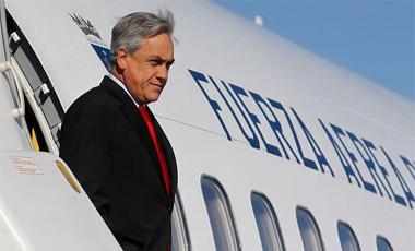 El Presidente de Chile viajó Rumbo a Roma