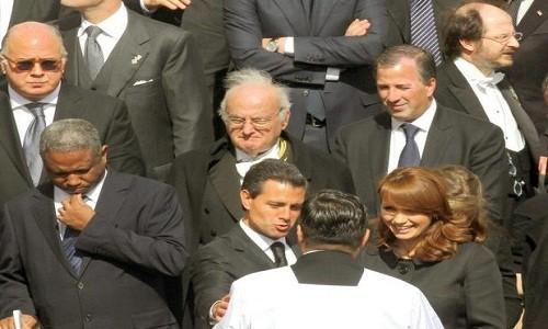 Peña Nieto recibió la bendición del Papa Francisco en el Vaticano