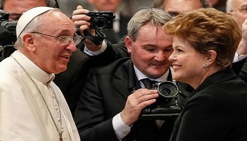 El papa Francisco viajará a Brasil en julio
