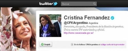 Cristina Fernández contó a través  de su cuenta Twitter  todo lo que conversó con el Papa Francisco