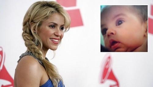 Shakira celebra en las redes los dos meses de Milan