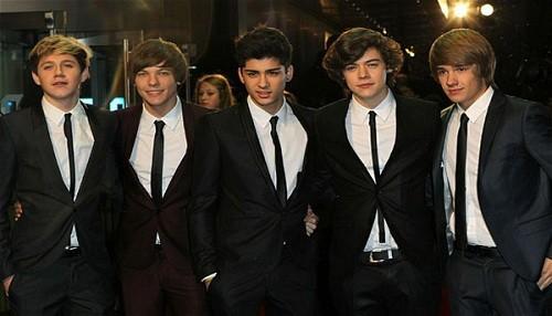 One Direction batió en los premios Kids Choice Awards 2013